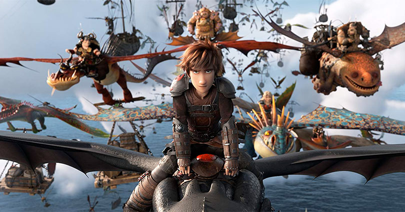 How to Train Your Dragon: The Hidden World - Hiccup and Toothless