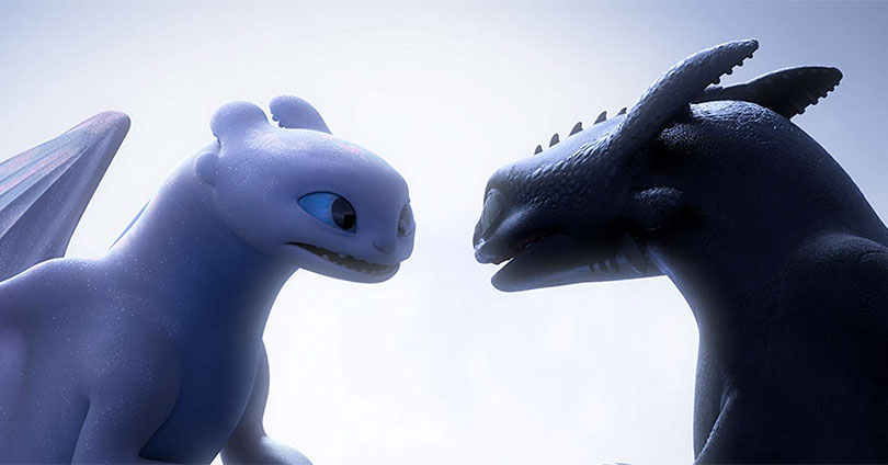How to Train Your Dragon: The Hidden World - Light Fury and Toothless