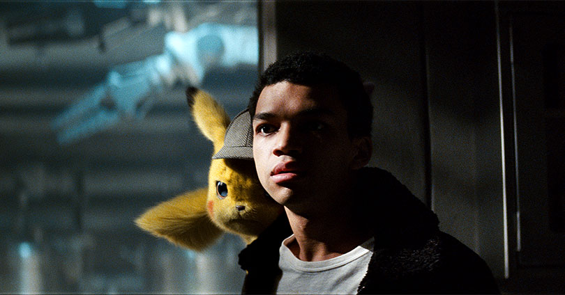 Pokémon: Detective Pikachu - Ryan Reynolds and Justice Smith