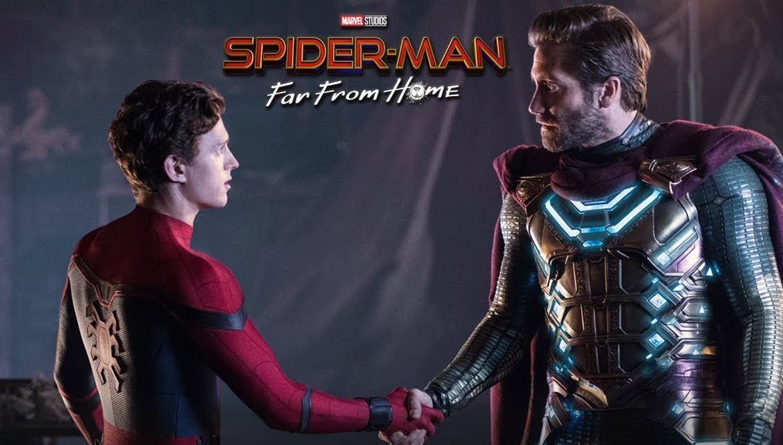 spider-man: far from home tom holland jake gyllenhaal mysterio