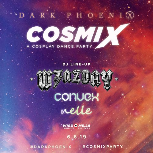 DJ lineup announced for Dark Phoenix Cosmix's cosplay dance party