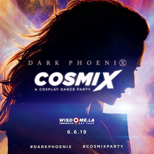 RSVP for Dark Phoenix Cosmix, a free cosplay dance party in LA