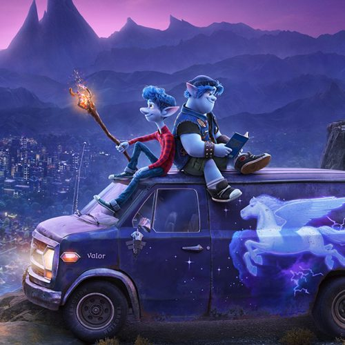 Pixar's modern fantasy, Onward, features Tom Holland and Chris Pratt as brothers