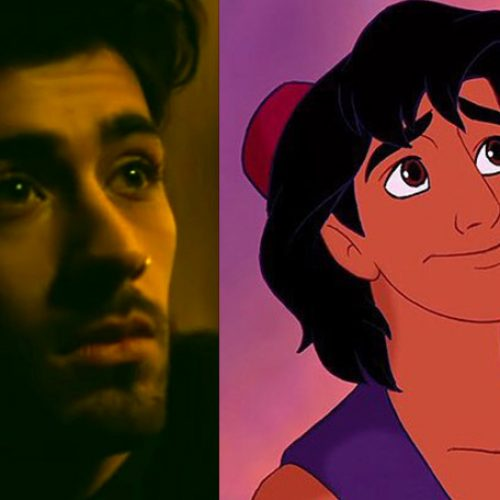 Fans upset Zayn isn't Aladdin based on his performance in the film's end title song, 'A Whole New World'