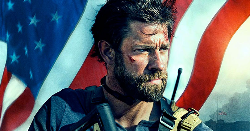 13 Hours: The Secret Soldiers of Benghazi 4K Blu-ray Cover