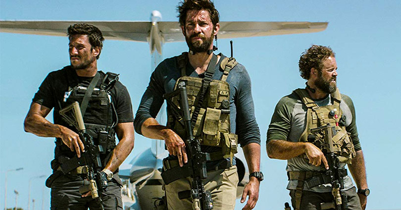 13 Hours: The Secret Soldiers of Benghazi - Pablo Schreiber, John Krasinski, and David Denman