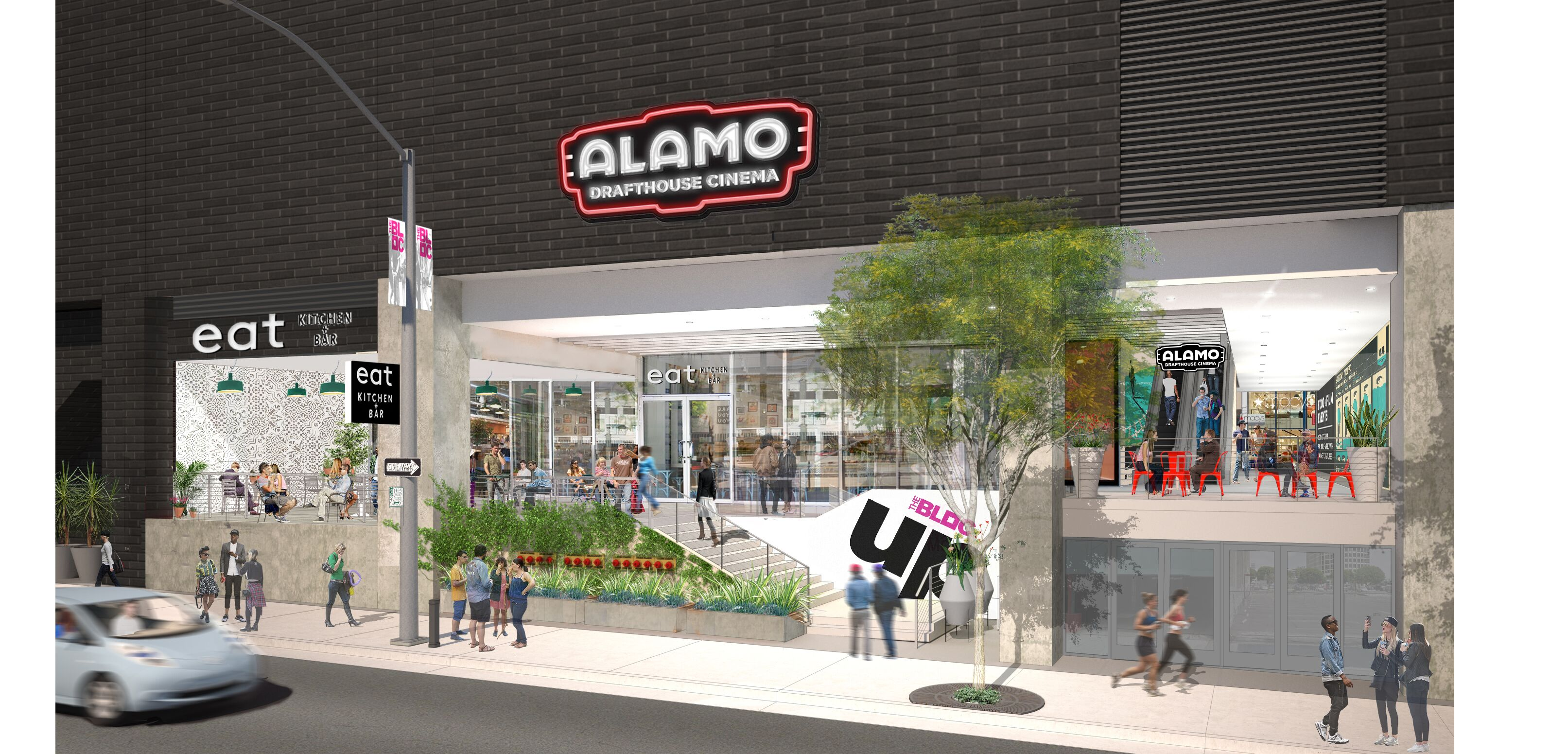 Alamo Drafthouse Los Angeles Renderings (Credit Studio One Eleven)