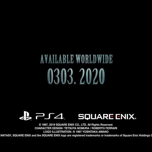 E3 2019: Final Fantasy 7 Remake has a release date and key art