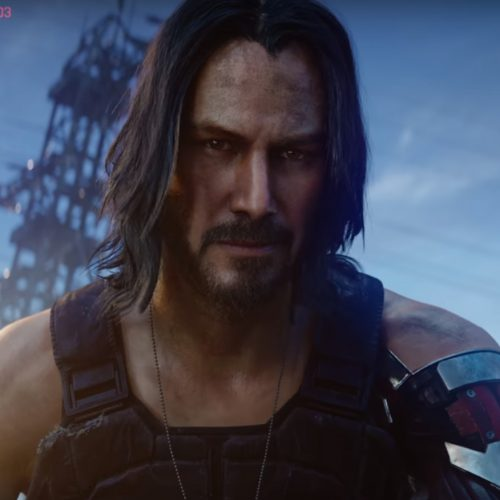 Keanu Reeves' Johnny Silverhand is a digital ghost in Cyberpunk 2077