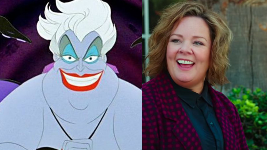 Melissa McCarthy Ursula The Little Mermaid remake