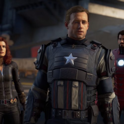 Play as Captain America, Iron Man, Thor, Black Widow and Hulk in Marvel's Avengers