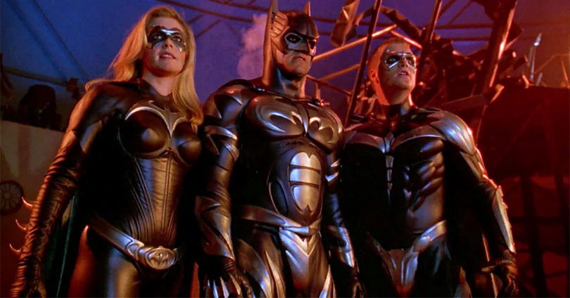 Batman & Robin - Alicia Silverstone, George Clooney, and Chris O'Donnell