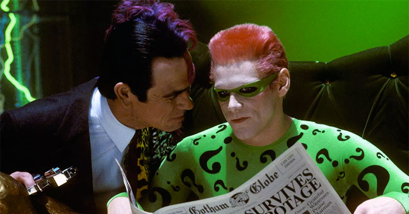 Batman Forever - Tommy Lee Jones and Jim Carrey