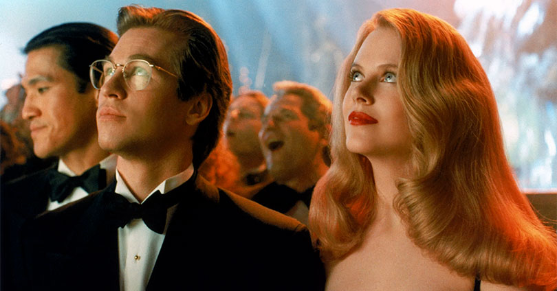 Batman Forever - Val Kilmer and Nicole Kidman
