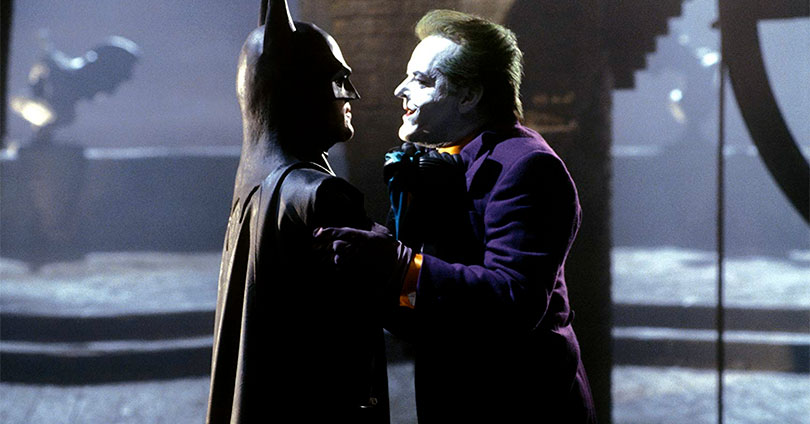 Batman - Micheal Keaton and Jack Nicholson