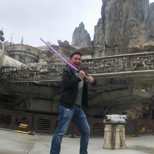 Flashing your lightsaber in Star Wars: Galaxy's Edge may get you in trouble