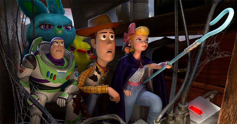 Toy Story 4 - Tim Allen, Jordan Peele, Keegan-Michael Key, Tom Hanks, Ally Maki, and Annie Potts