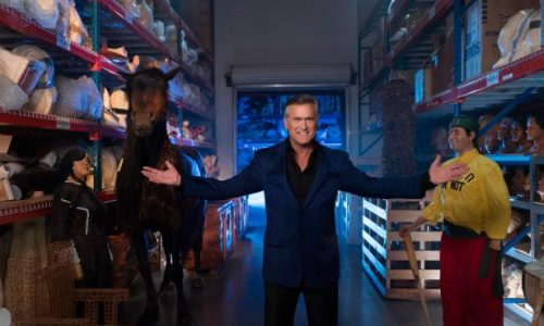 Bruce Campbell promotes Travel Channel's Ripley's Believe It or Not! at SDCC 2019