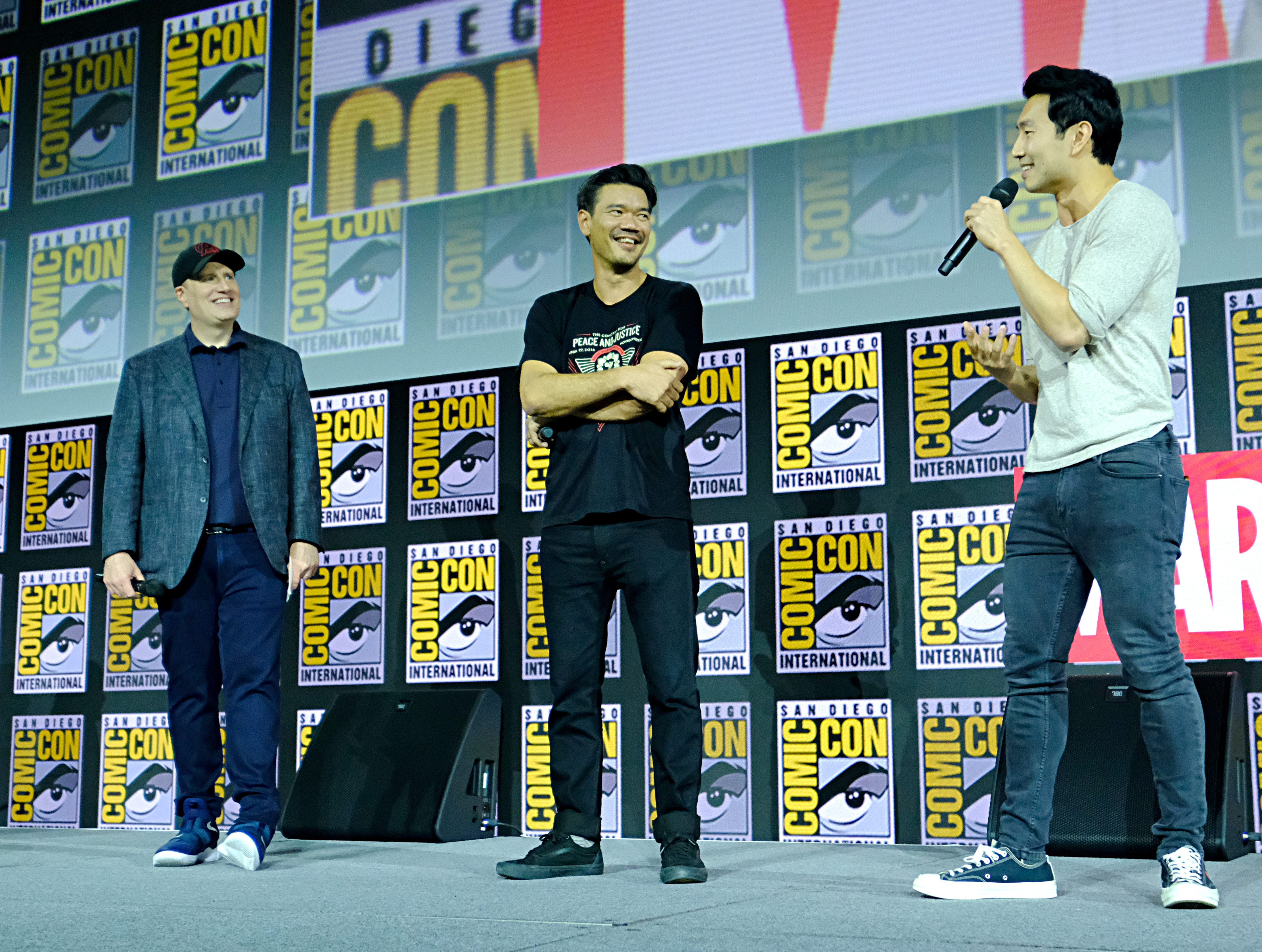 Shang-Chi and the Legend of the Ten Rings - Destin Daniel Cretton and Simu Liu