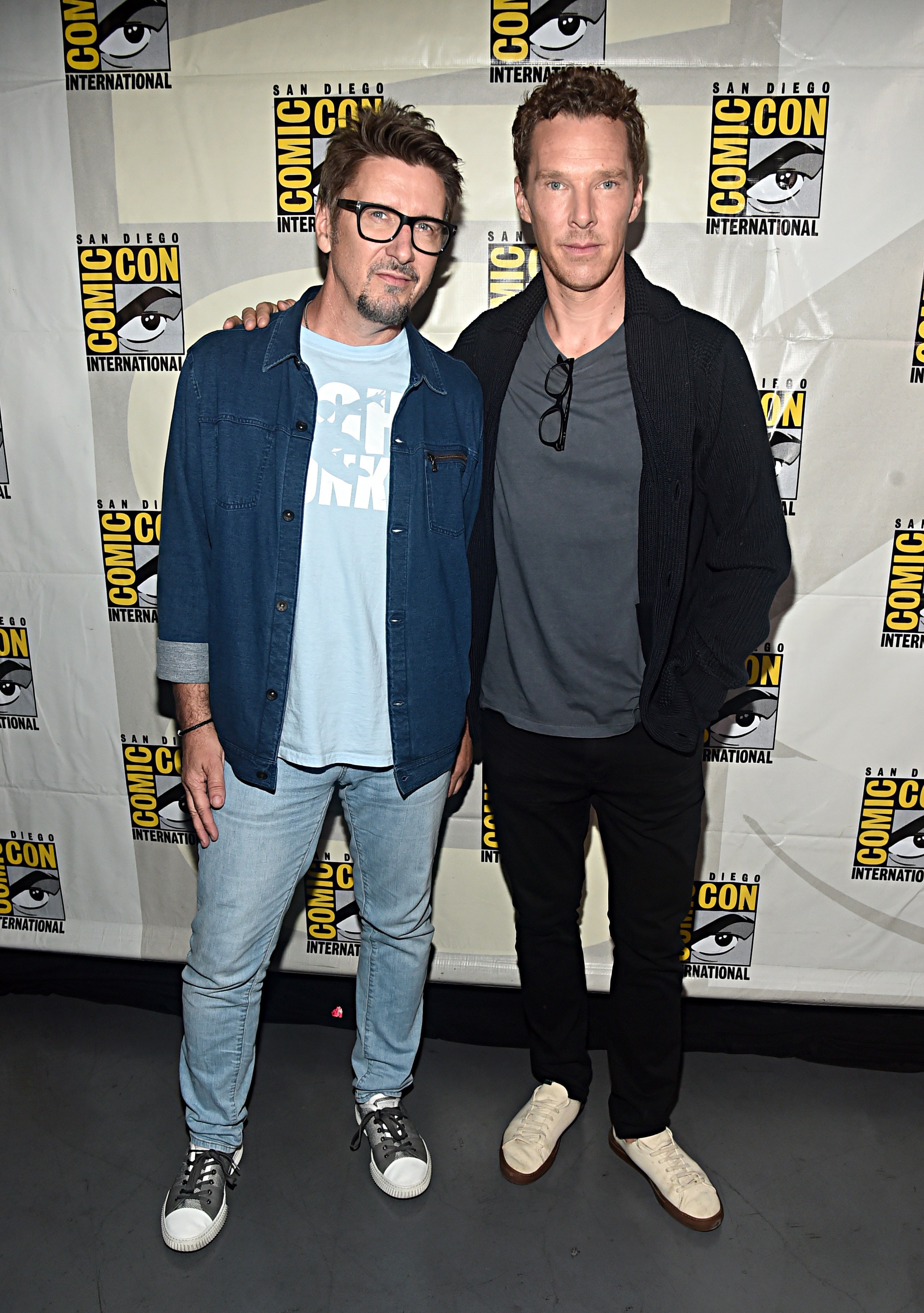 Doctor Strange in the Multiverse of Madness - Scott Derrickson and Benedict Cumberbatch