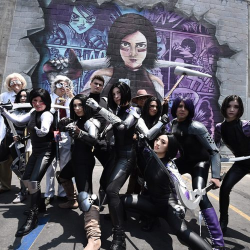 Alita: Battle Angel descends on Anime Expo 2019