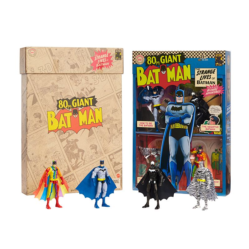Mattel The Strange Lives of Batman - thumb