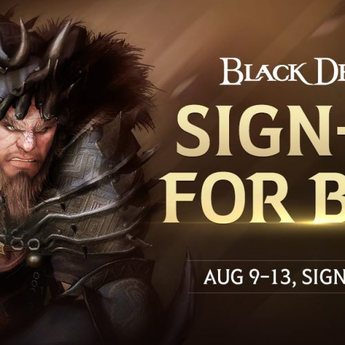 Black Desert Beta for PS4 coming August 9