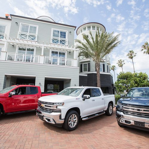 Driving the 2019 Chevy Silverado and testing its tech