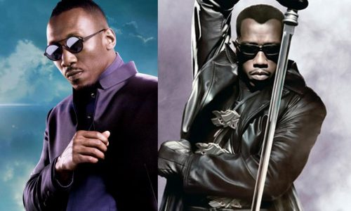 Mahershala Ali pays respects to Wesley Snipes as the original Blade