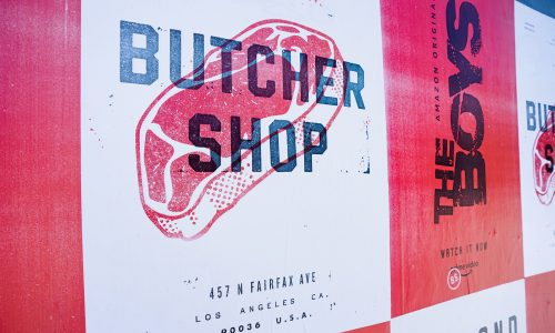 The Boys' pop-up Butcher Shop in LA will include interactive theatre and food