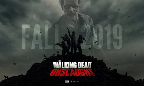 The Walking Dead: Onslaught looks to be the ultimate zombie-killing VR game