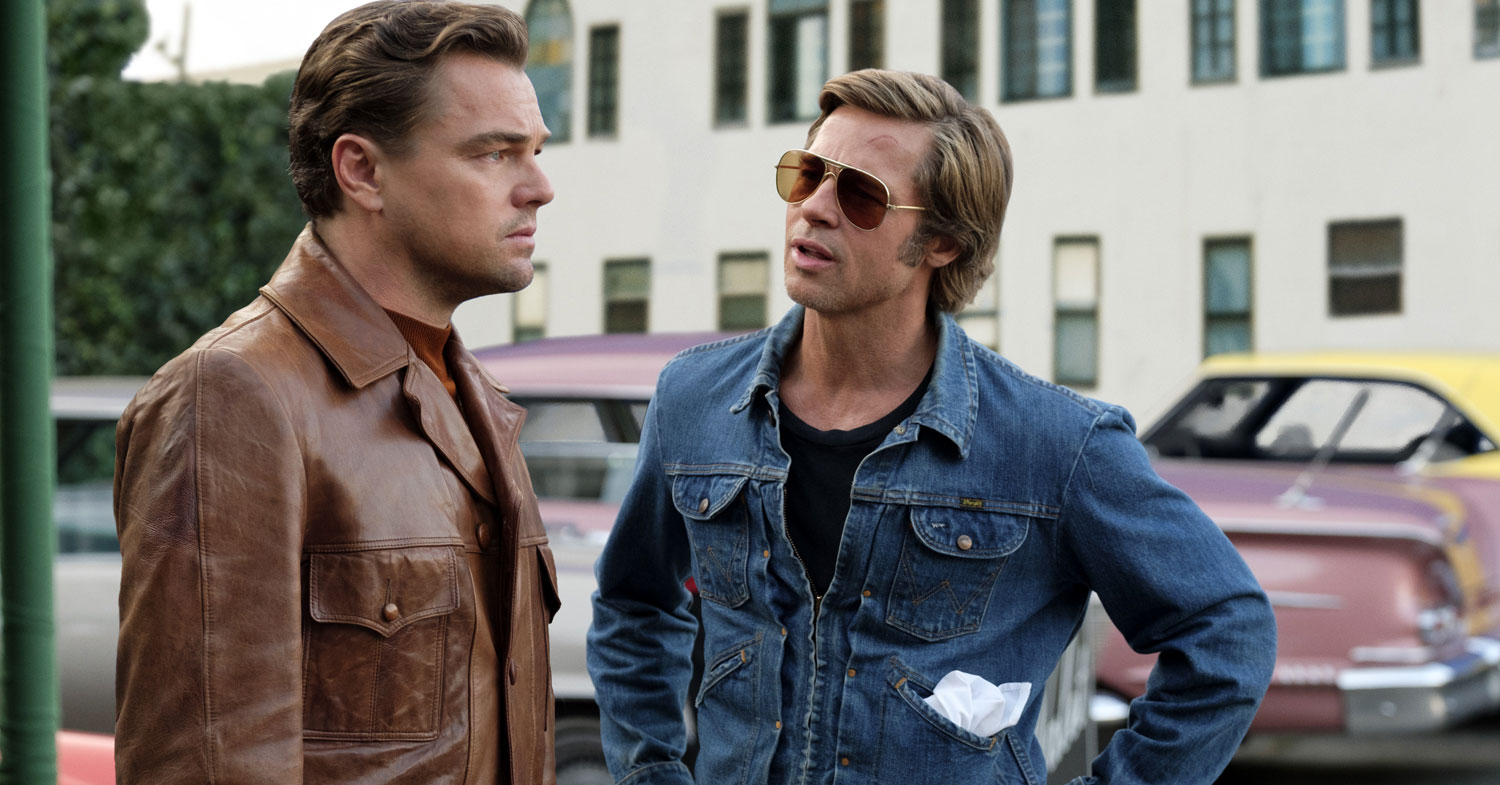 Once Upon a Time in Hollywood - Leonardo DiCaprio and Brad Pitt