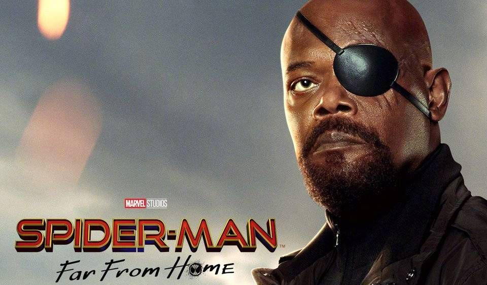 Spider-Man: Far From Home nick fury samuel l jackson 2