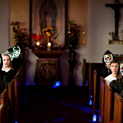 Interactive theatre show, One Exit, tempts us with the deadly sins