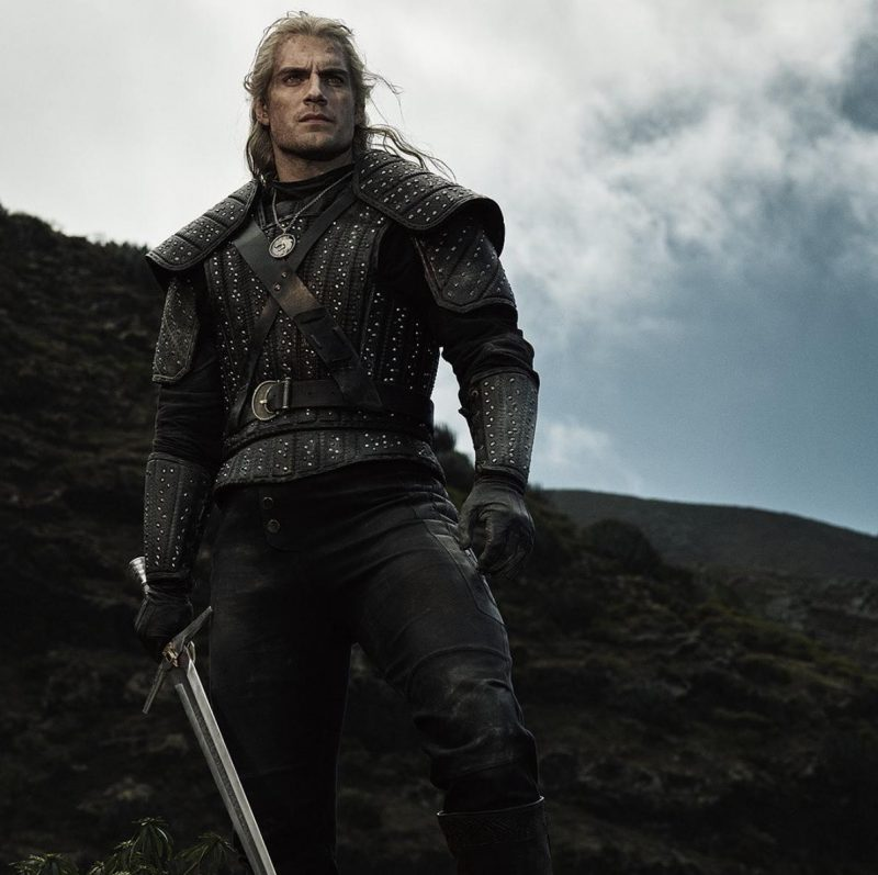 The Witcher Henry Cavill as Geralt