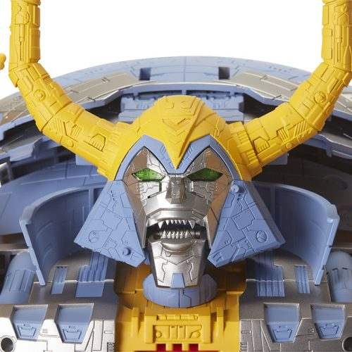 Gigantic Transformers' Unicron figure transformed from planet to robot in new video