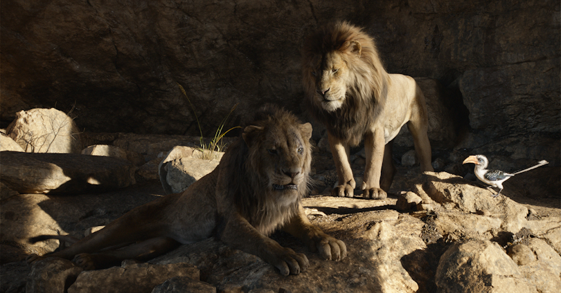 The Lion King - Chiwetel Ejiofor and James Earl Jones
