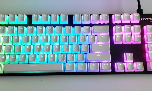 HyperX Double-Shot PBT Keycaps will make your RGB keyboard more colorful