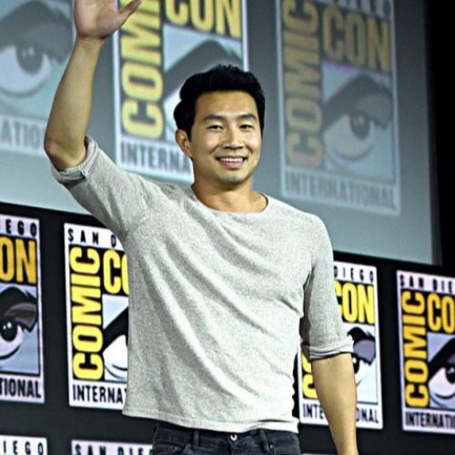 Shang-Chi's Simu Liu feels the weight of Captain America's shield
