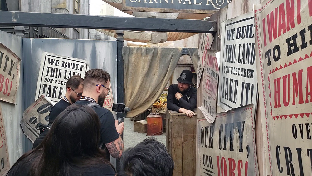 Amazon Carnival Row SDCC 2019 Activation