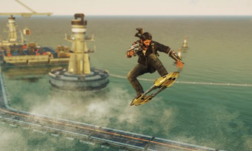 Just Cause 4's latest DLC introduces the hoverboard