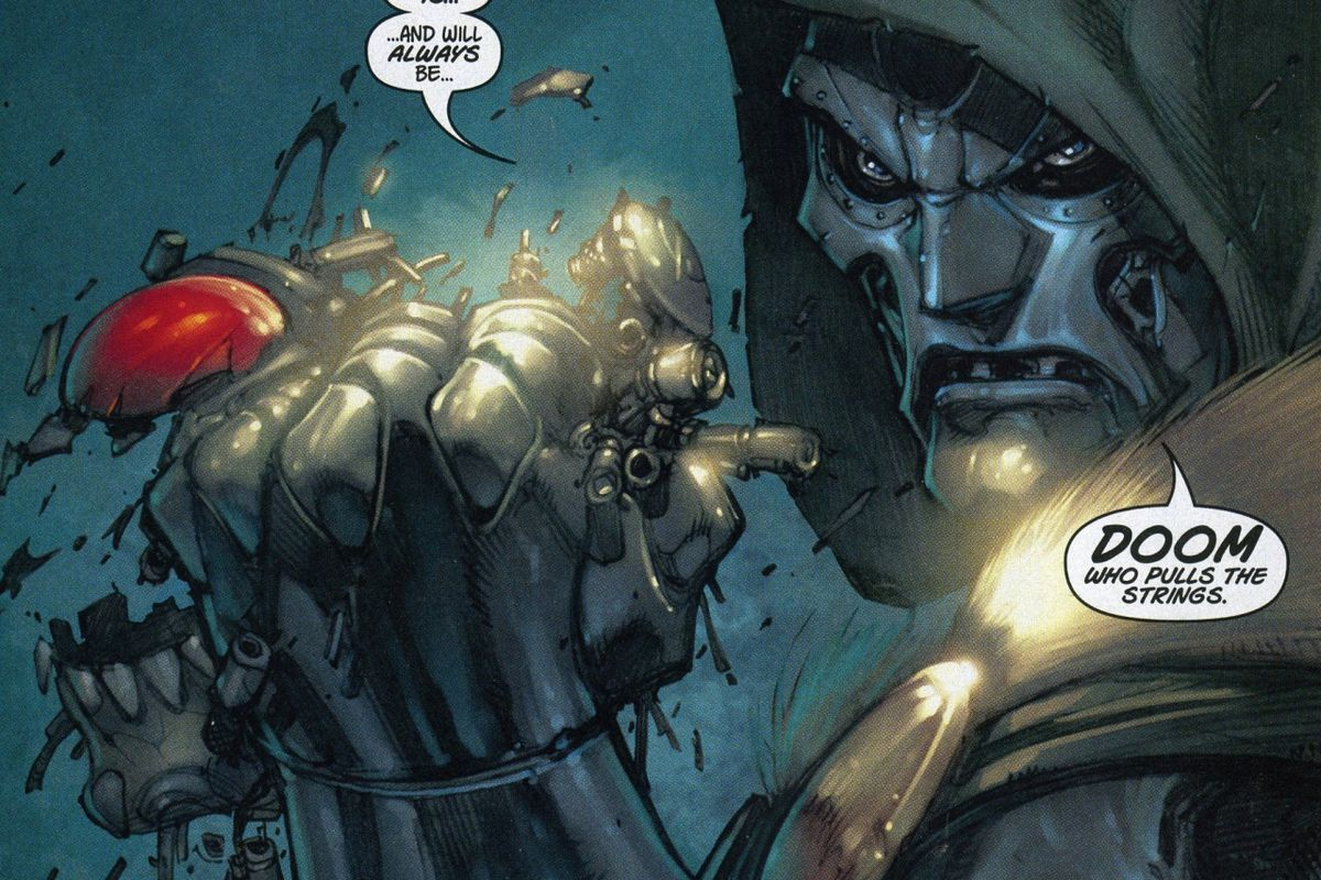 Doctor Doom Marvel Joe Mad