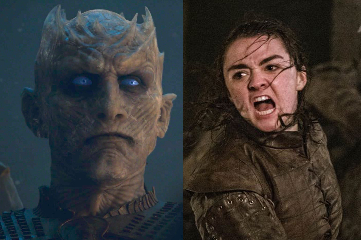 Game of Thrones Arya Night King