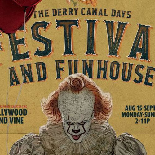 We enter the It Chapter Two Festival and Funhouse
