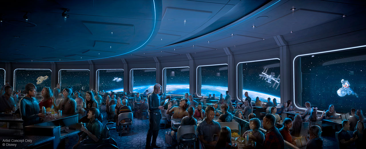 Epcot - Space 220