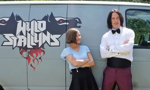 Keanu Reeves makes teenager's wish come true with Bill & Ted Face the Music set visit