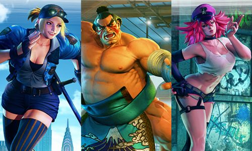 E. Honda, Lucia and Poison officially announced for Street Fighter V