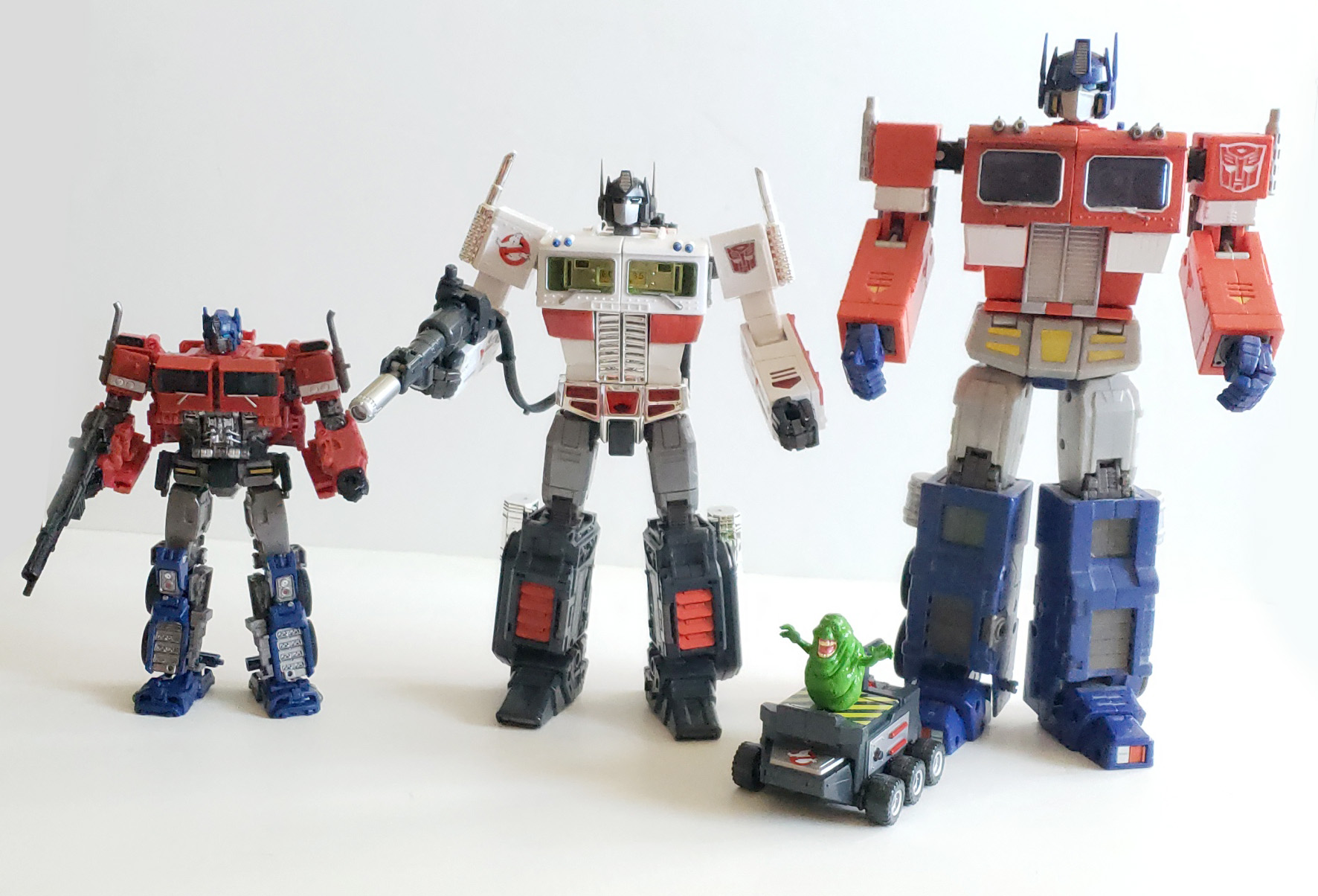 Transformers Ghostbusters Optimus Prime SDCC - front 04
