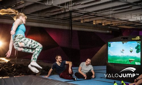 Valo Motion and Rockin' Jump combine gaming and physical activity