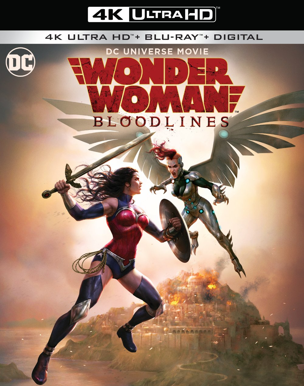 Wonder Woman 4K Blu-ray